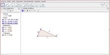 1 - Deslizadores. Teorema de Pitágoras generalizado