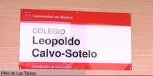 El nuevo colegio 'Leopoldo Calvo-Sotelo' aporta 225 plazas de 2º ciclo de Infantil