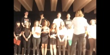 Actuación del Coro del Instituto - 2