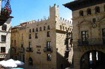 Ayuntamiento de estilo renacentista de Valderrobres, Teruel