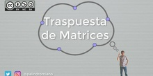 Matrices 5 - Matriz Traspuesta