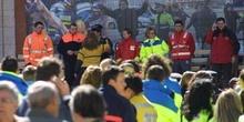 Homenaje a los servicios de emergencia y fuerzas de seguridad en