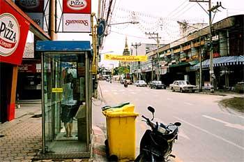 Calles de Chiang Mai, Tailandia