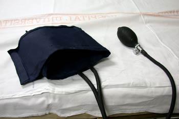 Manguito de presión arterial o esfignomanometro