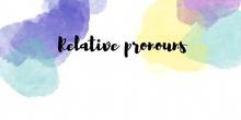 PROYECTO 6-RELATIVE PRONOUNS