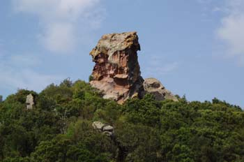 Pico del Indio, Menorca