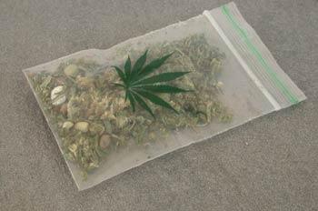 Bolsa de marihuana