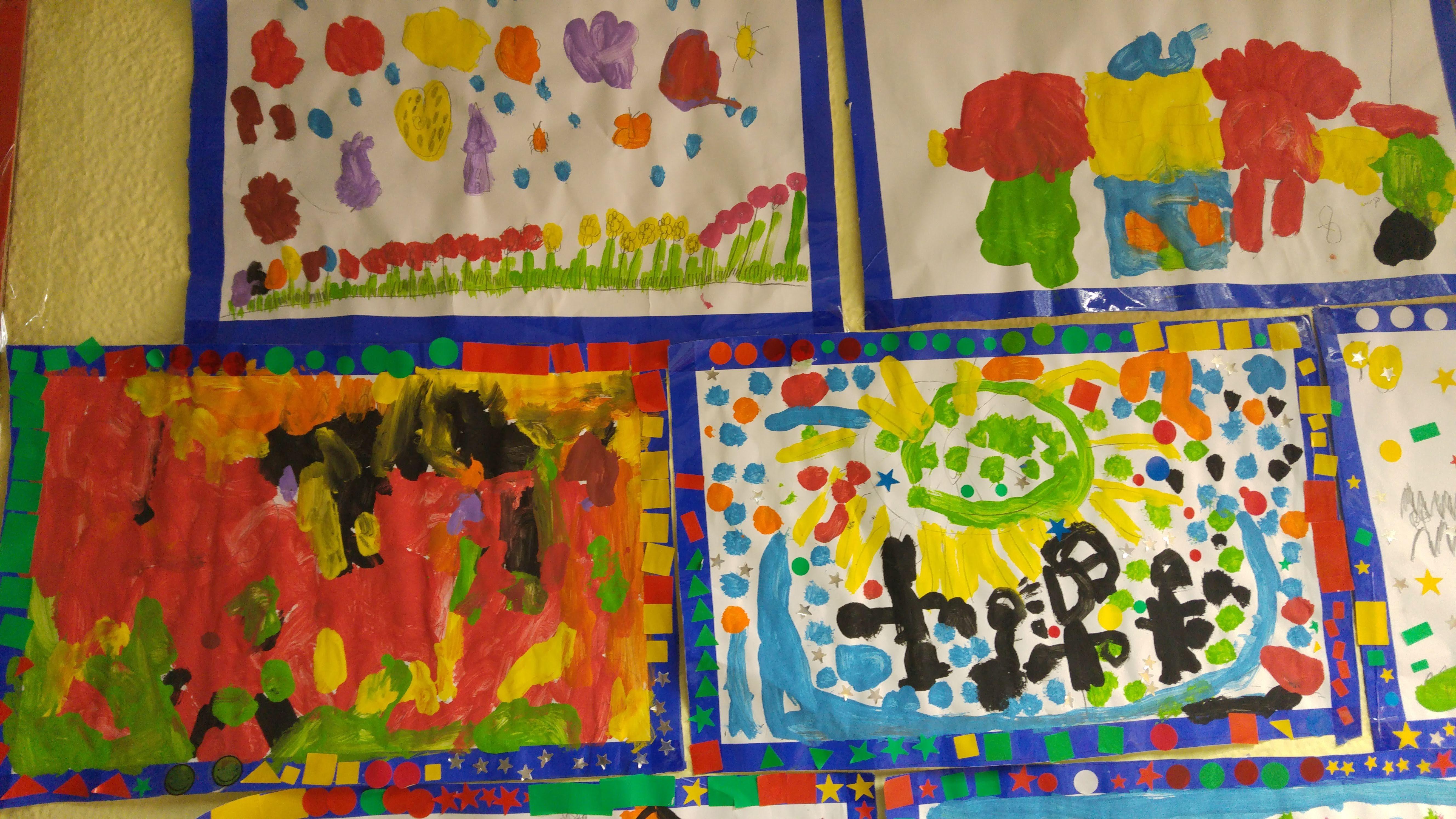 TALLER DE PINTURA CREATIVA ED. INFANTIL 6