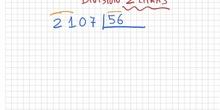 Divisiones con dos cifras en el divisor