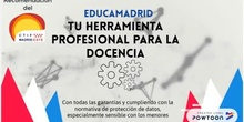Recomendación del CTIF Madrid-Este. EducaMadrid