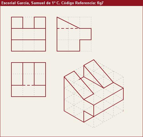 Vistas Diédricas Fig7