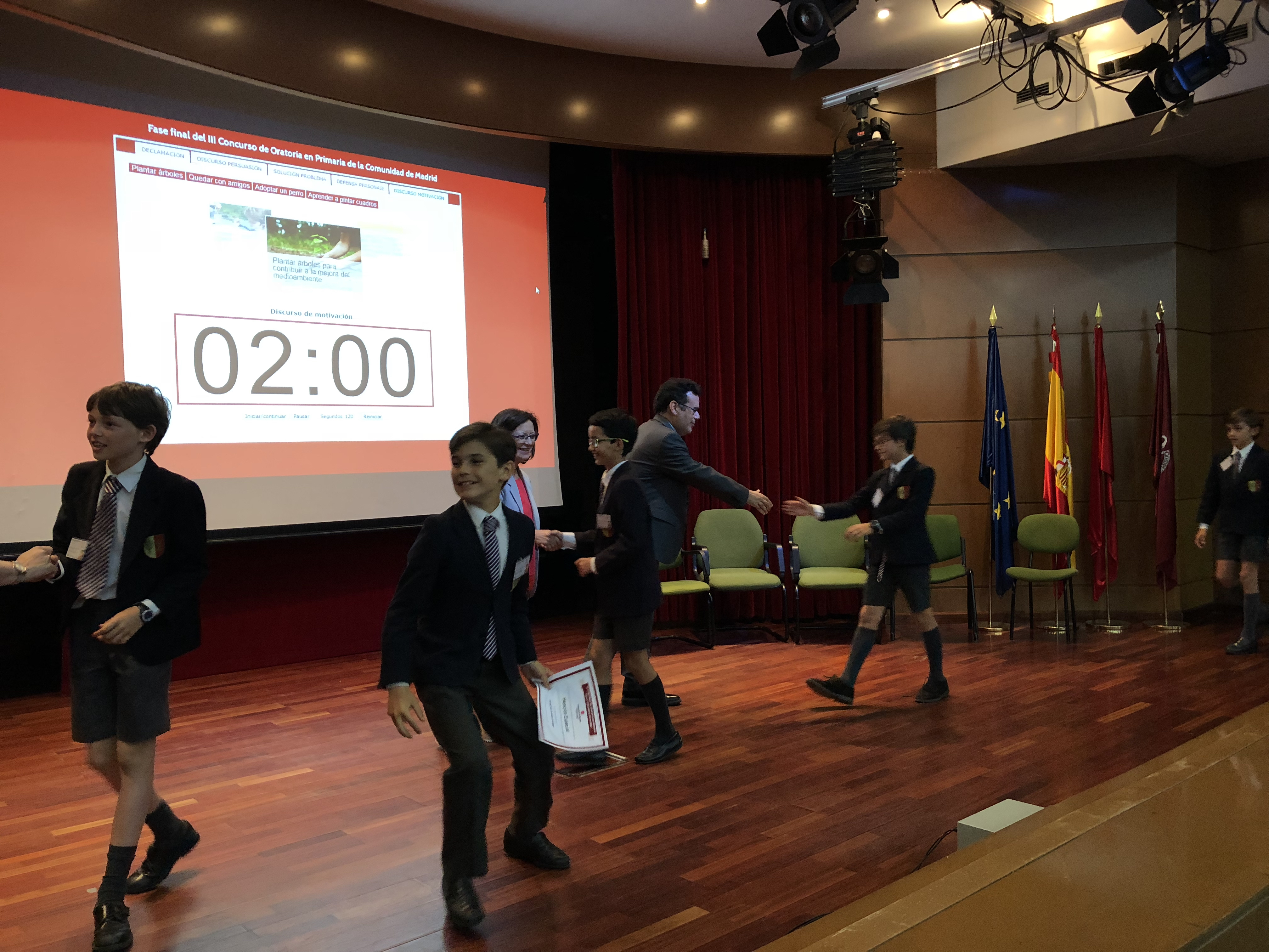 Fase final del III Concurso de Oratoria en Primaria de la Comunidad de Madrid 6