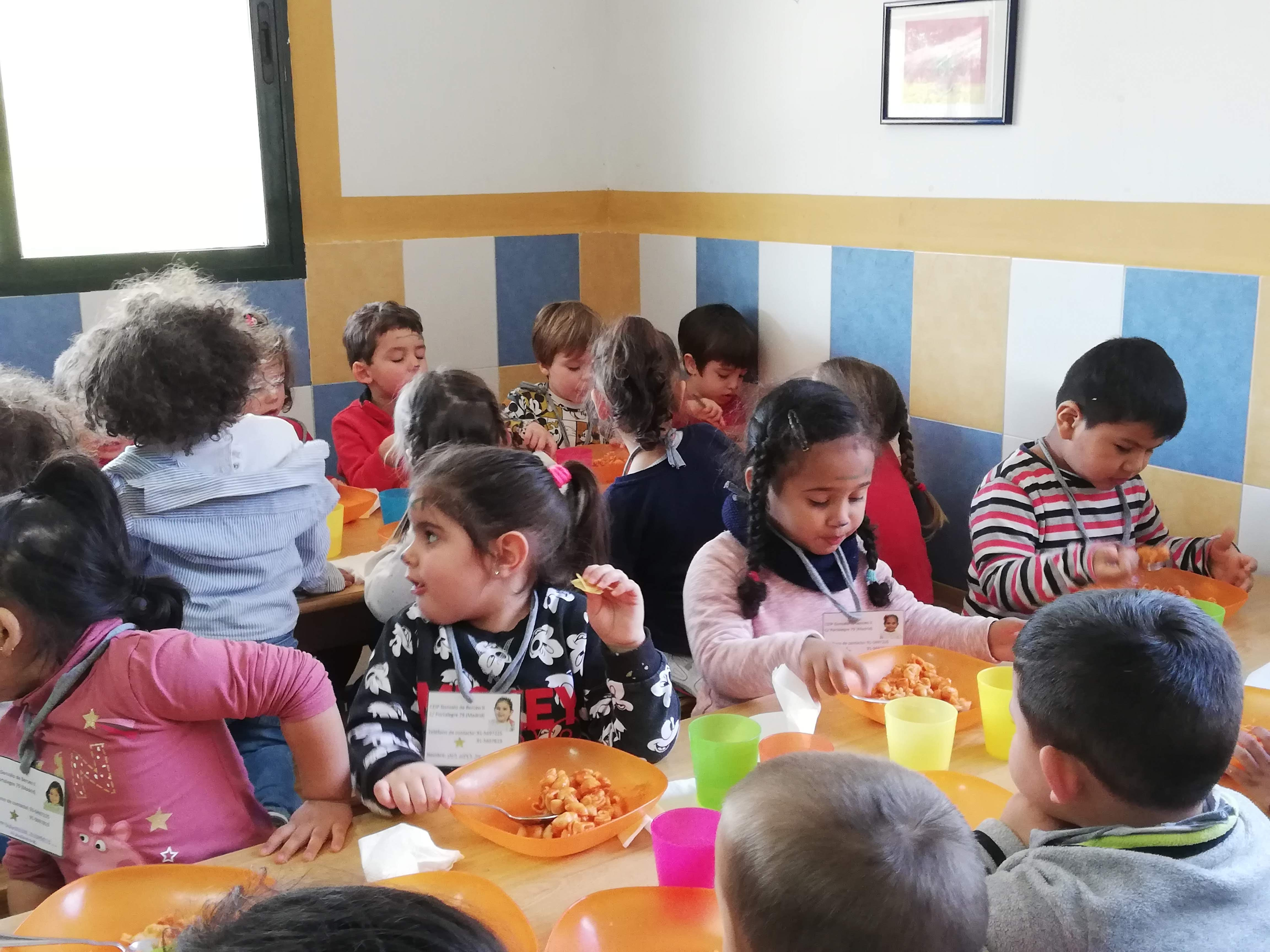 """Granja Escuela """"Giraluna"""". Infantil 3 años.1 2"""