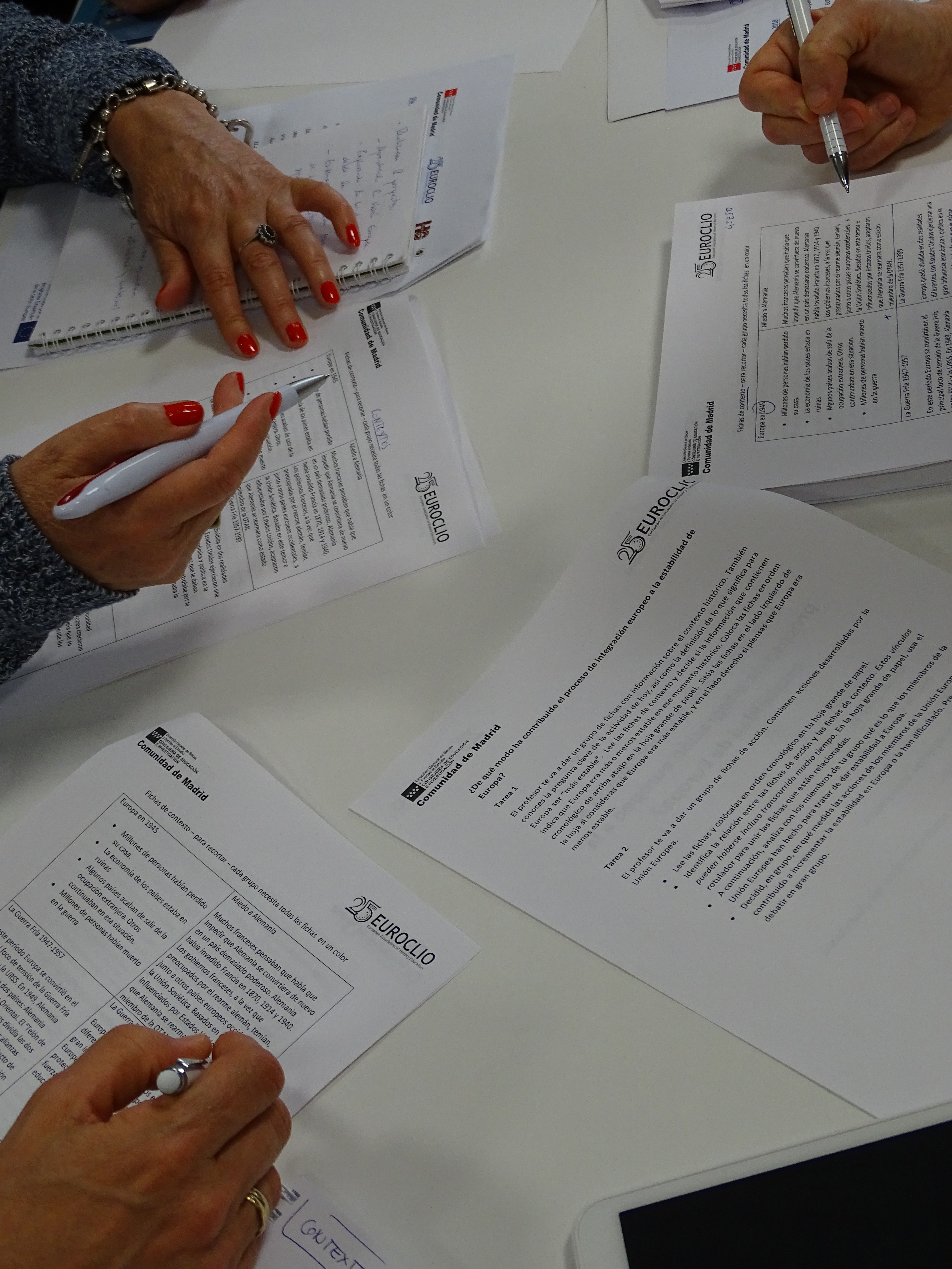Nuevas metodologías para la enseñanza de Europa: ¡Esto no va de tratados! 9 Junio CTIF Madrid-Capital Taller 1 4