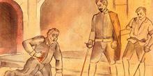 Don Gonzalo herido de muerte