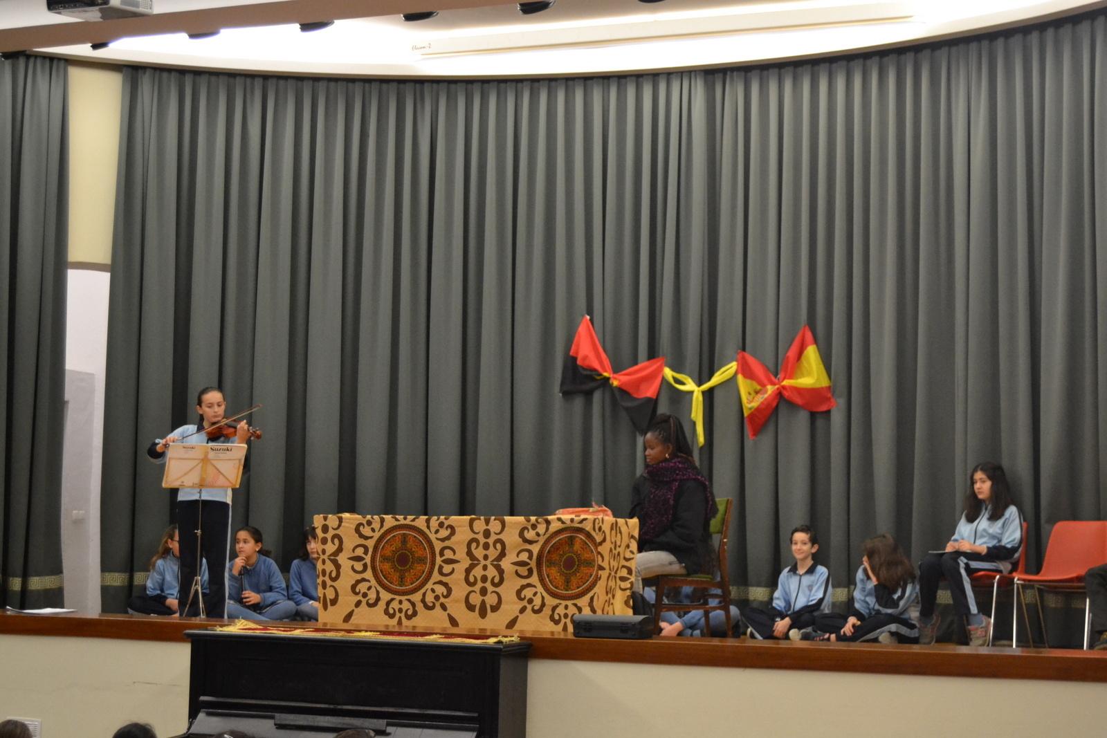 Bienvenida a Susan (profesora de Angola) 21