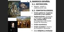 10.5. Barroco español. 10.6. Arquitectura barroca española