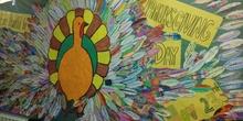 Thanksgiving Day Decoración