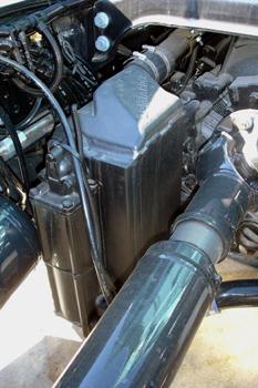 Vehículos industriales. Refrigerador de aceite del Intarder