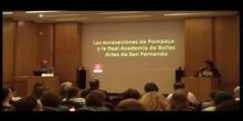 Curso en LA REAL ACADEMIA DE BELLAS ARTES DE SAN FERNANDO. 4ª Conferencia D. José María Luzón Nogué