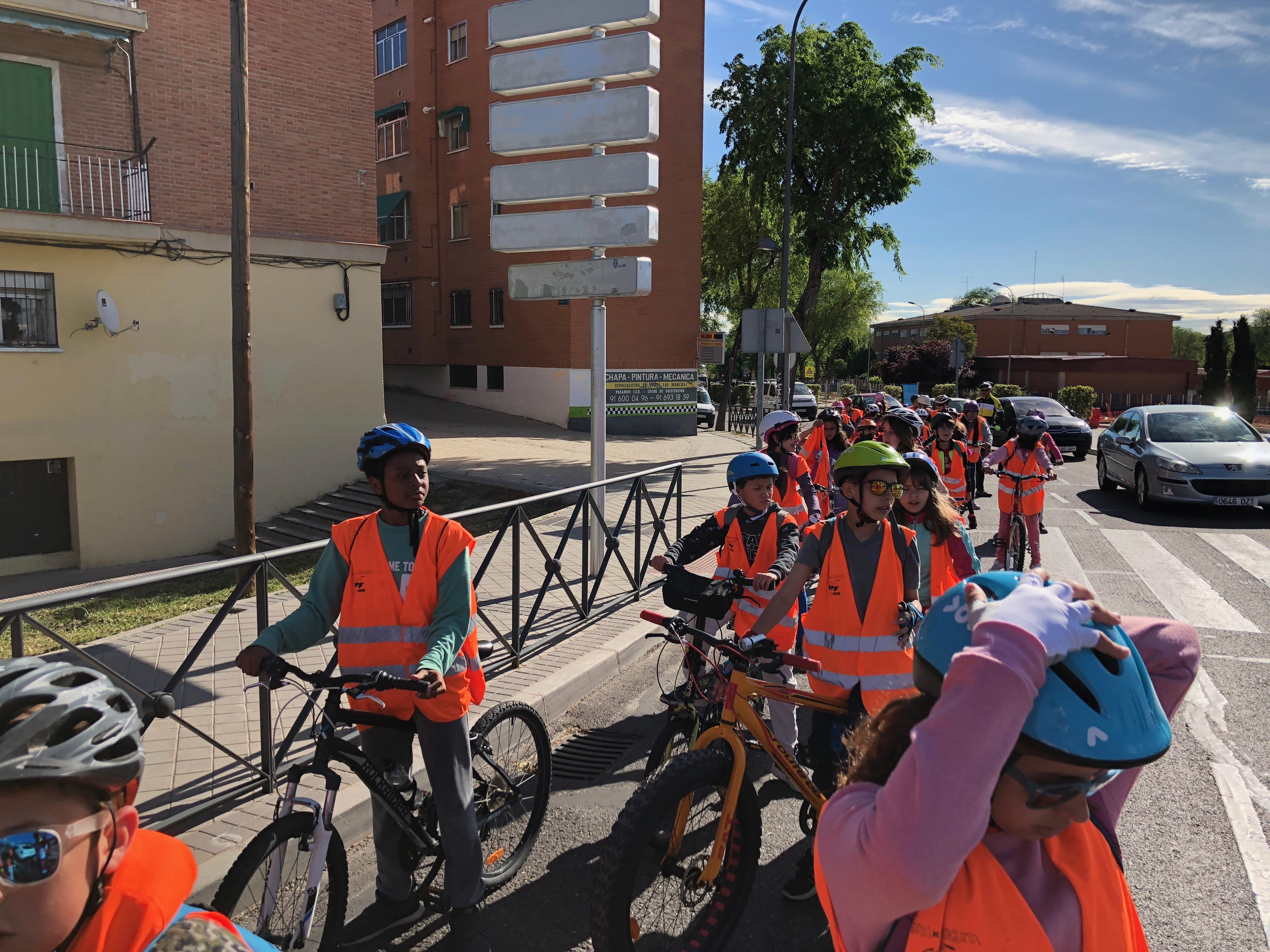 Salida en bicicleta a Polvoranca 18