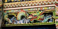 Dragón de porcelana, Tailandia