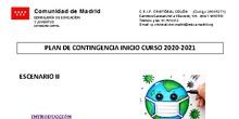 Plan de Contingencia CEIP Cristóbal Colón