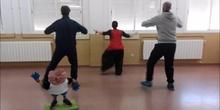 Baile de los X juegos coeducativos de Torres de la Alameda