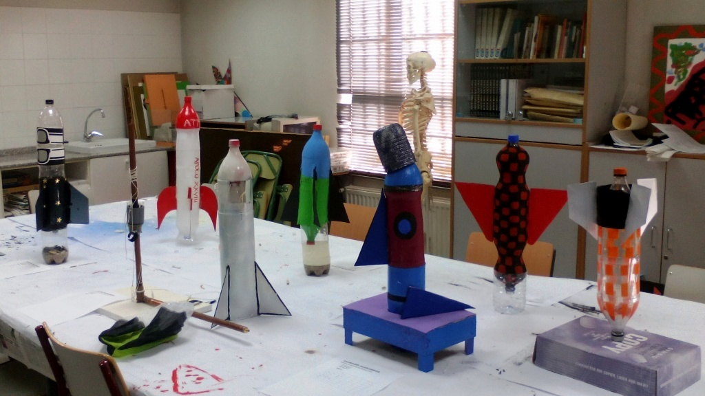 Cohetes del CEPA de Pinto 2016