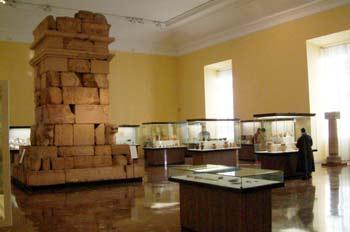 Interior del Museo Arqueológico Nacional, Madrid