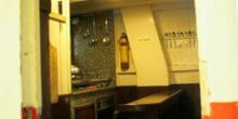 Cocina de un barco de pesca, Museo Marítimo de Asturias, Luanco