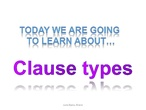 all clause types