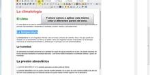 Editor online: Formato de texto