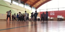 Coreografía de educación física
