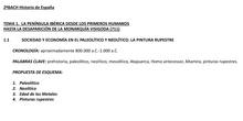 "BLOQUE 1. Península ibérica desde primeros humanos hasta desaparición visigodos (711)<span class=""educational"" title=""Contenido educativo""><span class=""sr-av""> - Contenido educativo</span></span>"