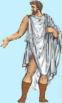 Atuendo masculino de la Roma clásica