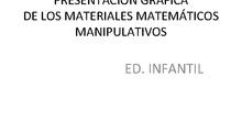 MATEMATICAS MANIPULATIVAS INFANTIL CEIP JUAN RAMÓN JIMÉNEZ
