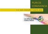 Proyecto Final Plan de Convivencia CC San Joaquín y Santa Ana Primaria