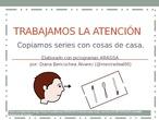 CPEE SEVERO OCHOA AUDICION Y LENGUAJE ATENCIÓN CON SERIES DE OBJETOS DE CASA