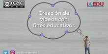 Creación de videos con fines didácticos