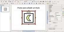 Recortar una imagen en LibreOffice Impress