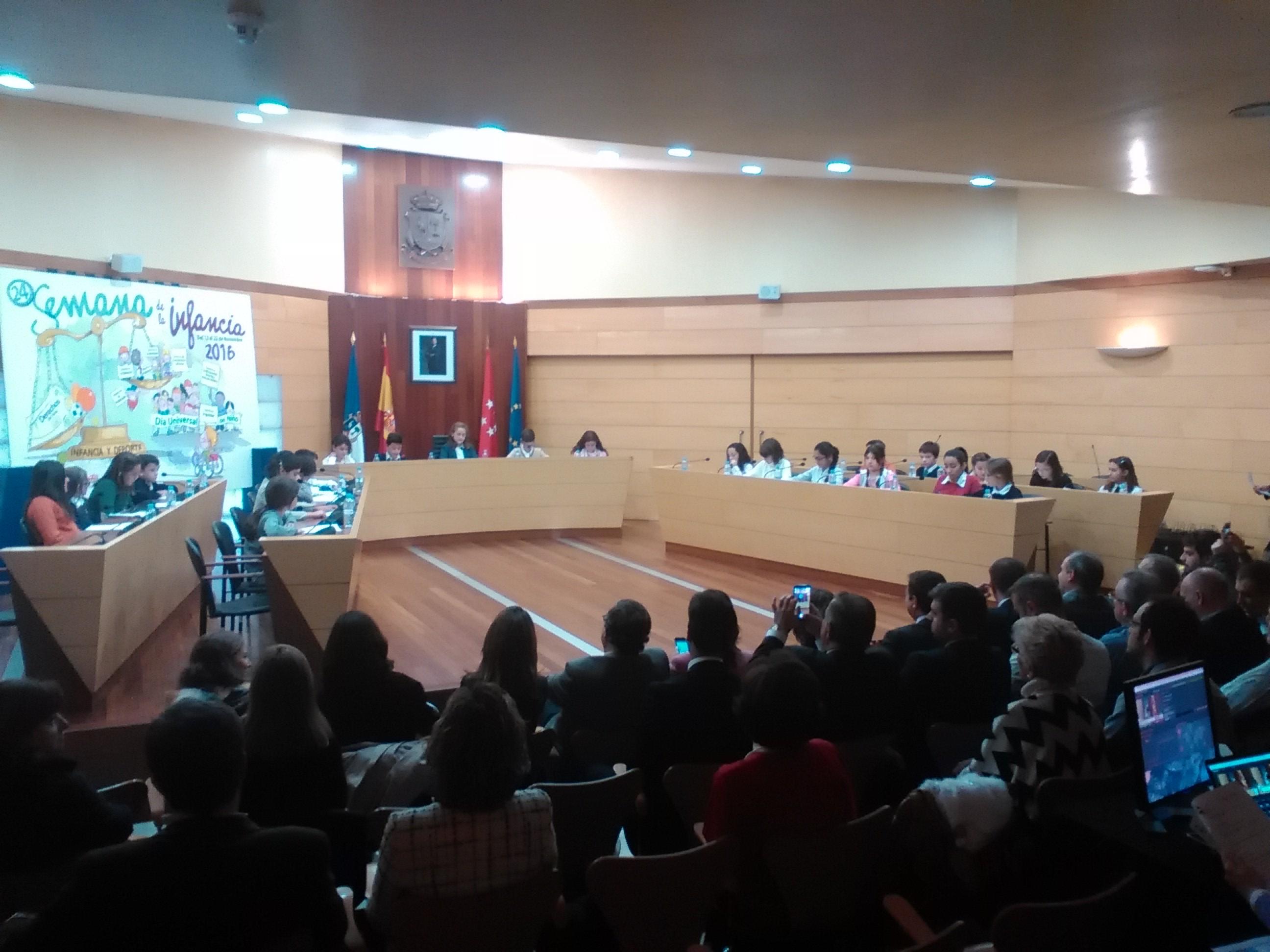 2016_11_21_Pleno Infantil en el Ayuntamiento de Las Rozas_Sexto