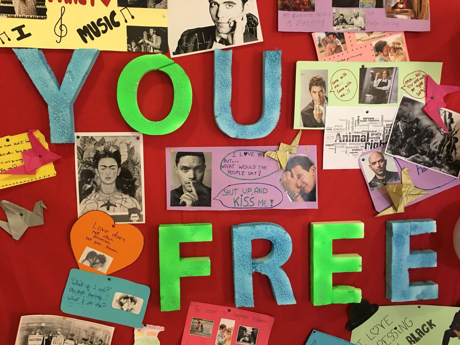Photocall workshop - I love you free 7