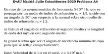 EvAU Madrid Julio Coincidentes 2020 Problema A4
