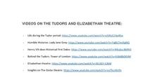 The Tudors - vídeos