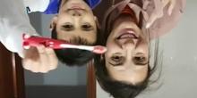Semana de la salud. Nos cepillamos bien los dientes. Infantil 5 años