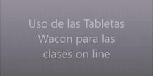 Uso de las tabletas digitalizadoras para las clases on-line
