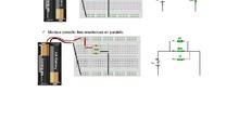Montaje de circuitos electrónicos básicos en placa protoboard