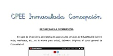 Tutorial - EducaMadrid: recuperar la contraseña