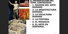 1. Rasgos generales del arte romano